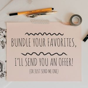Bundle your favorites and save on shipping!